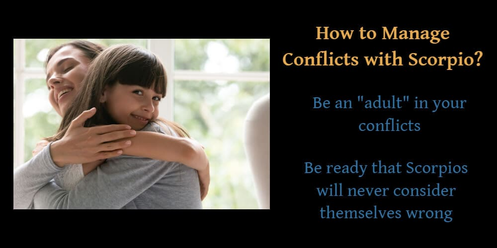 How to manage conflicts with Scorpio?