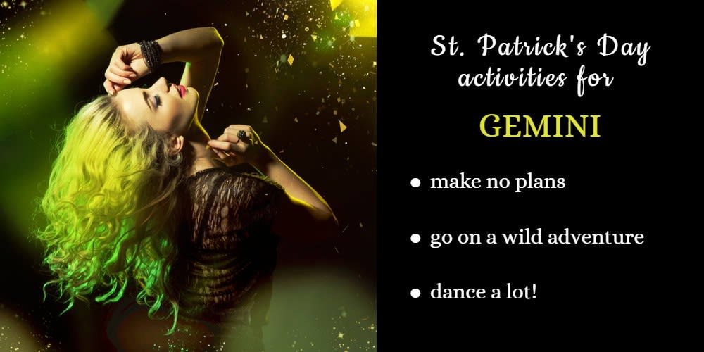 How To Celebrate St. Patrick's Day: Ideas for Gemini