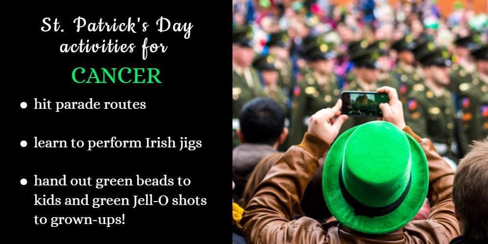 How To Celebrate St. Patrick's Day: Ideas for Cancer
