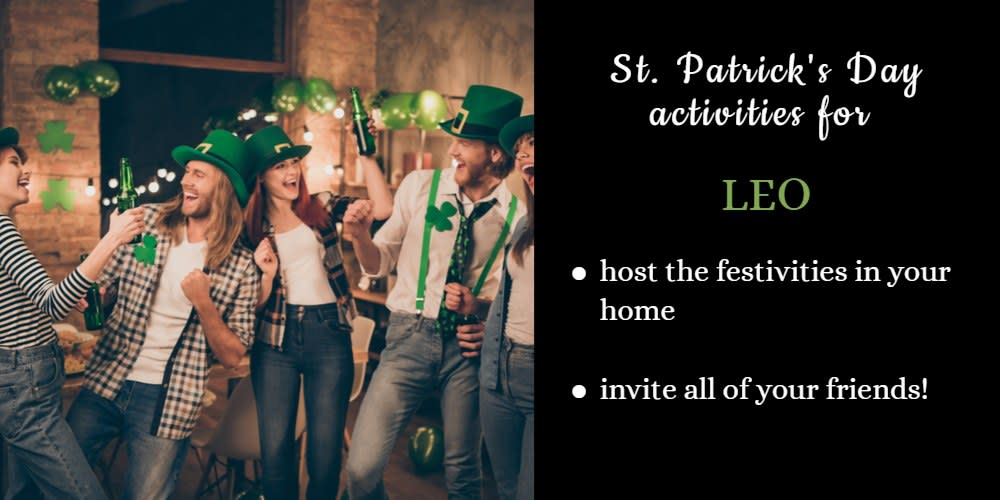 How To Celebrate St. Patrick's Day: Ideas for Leo
