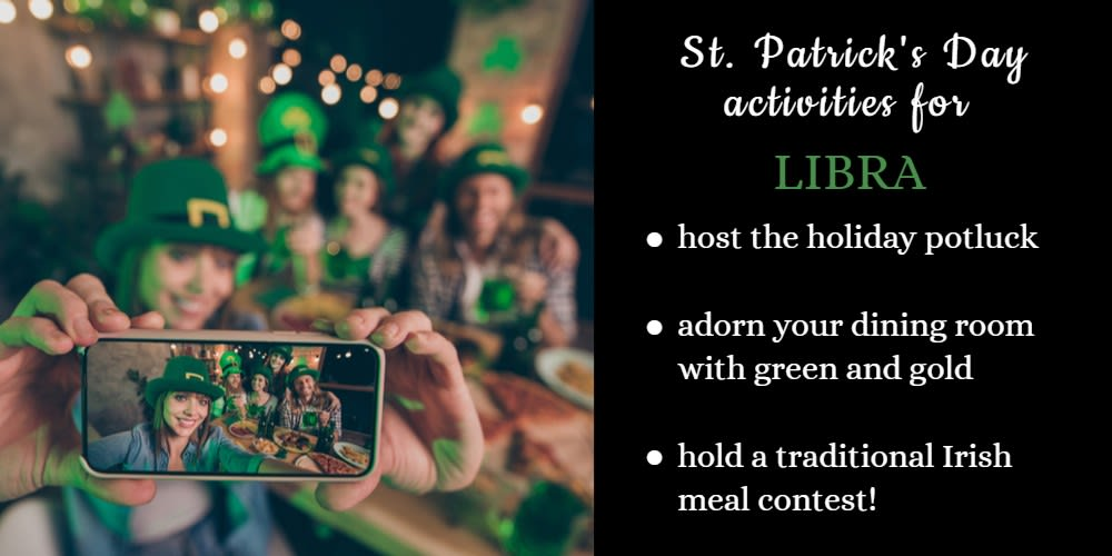 How To Celebrate St. Patrick's Day: Ideas for Libra