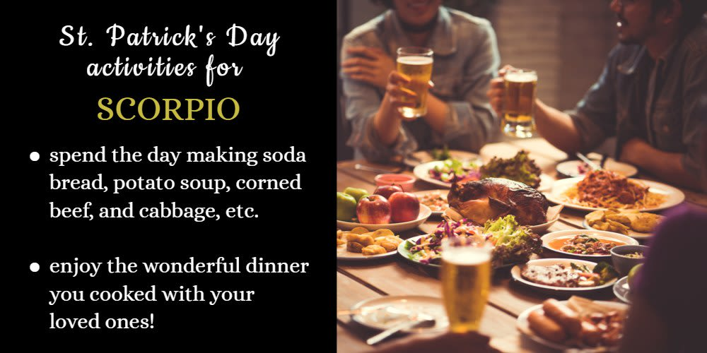 How To Celebrate St. Patrick's Day: Ideas for Scorpio