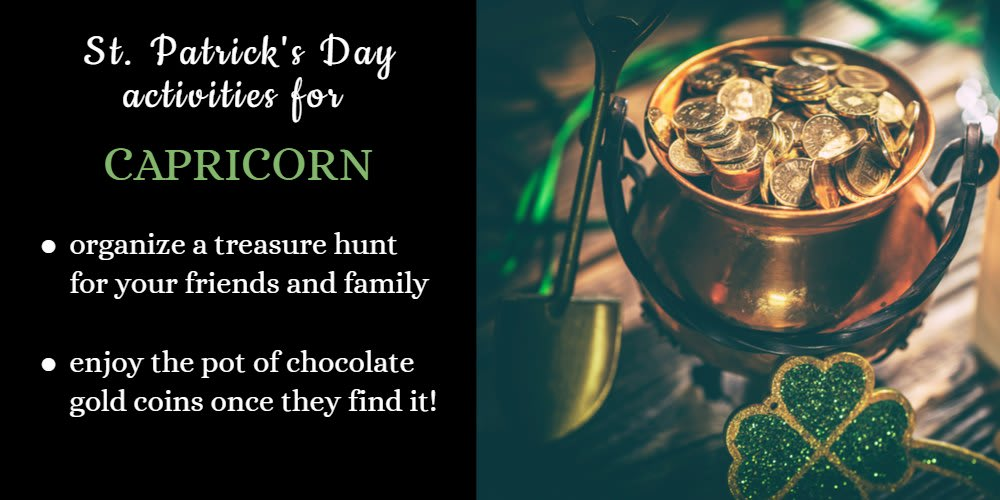 How To Celebrate St. Patrick's Day: Ideas for Capricorn