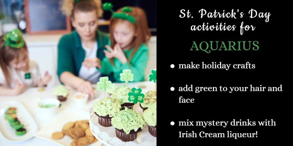 How To Celebrate St. Patrick's Day: Ideas for Aquarius
