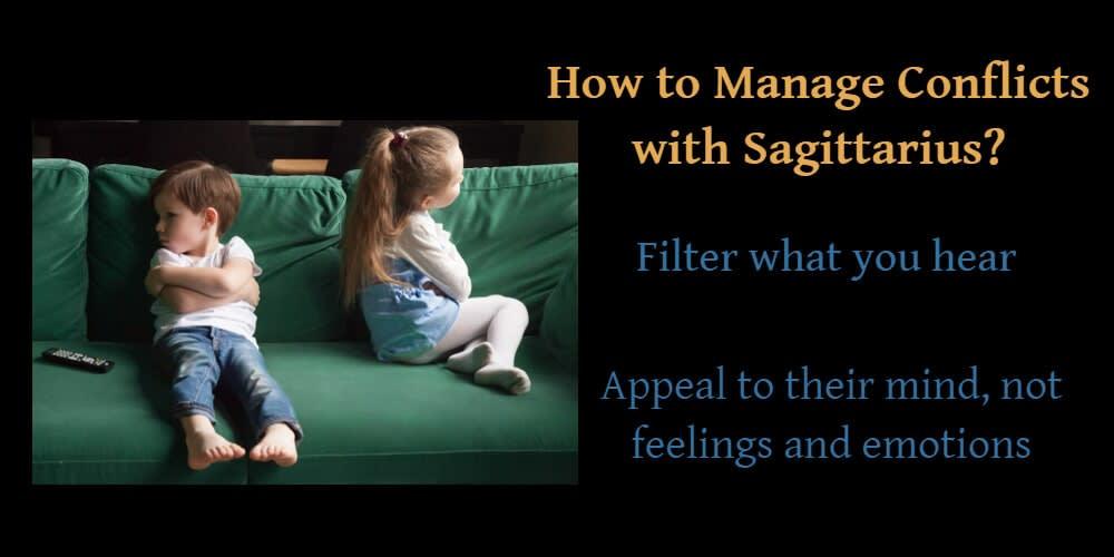 Managing conflicts with Sagittarius