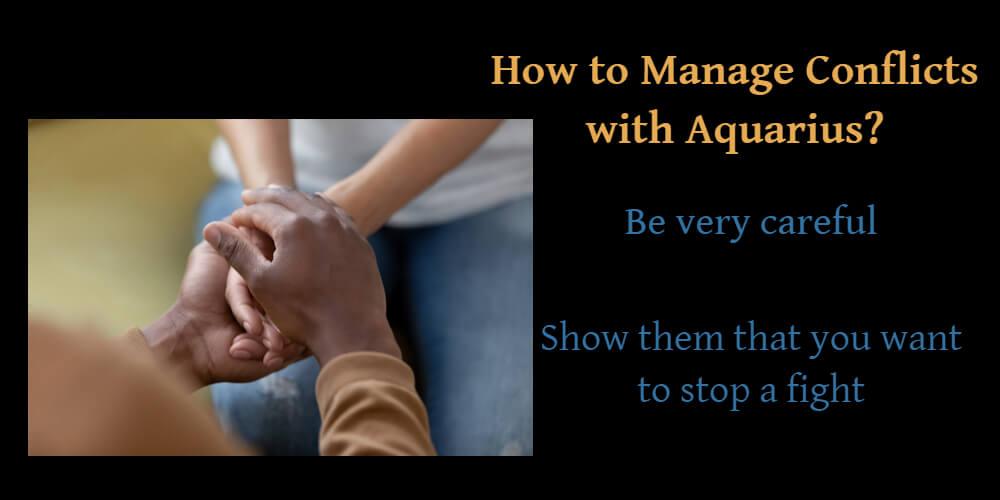 Managing conflicts with Aquarius