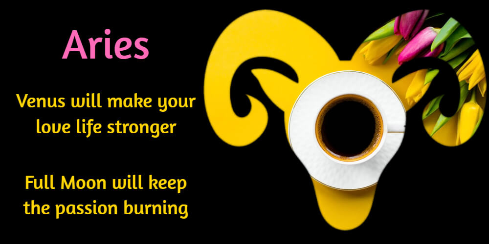 March love tips for Aries