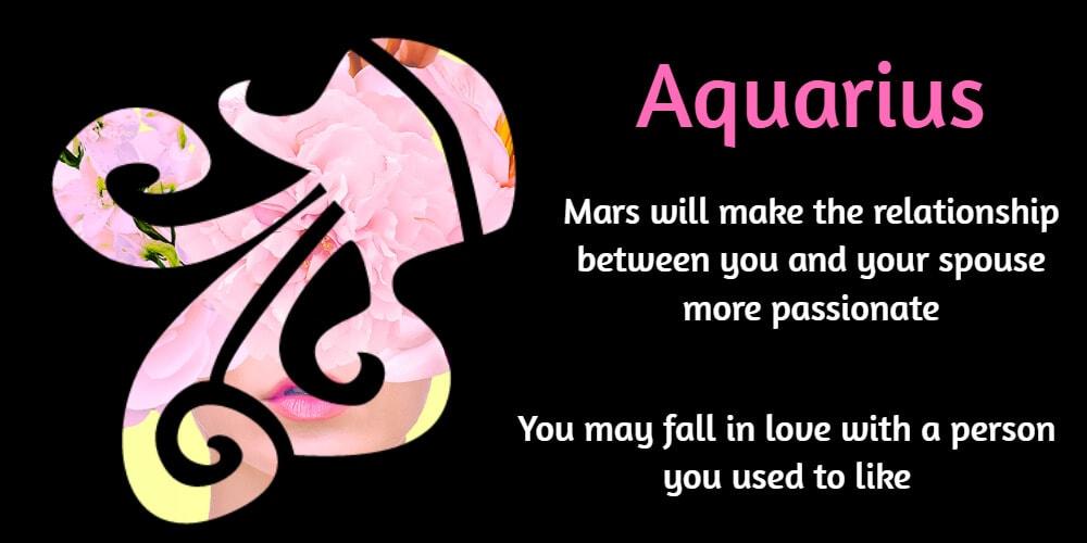 March love tips for Aquarius