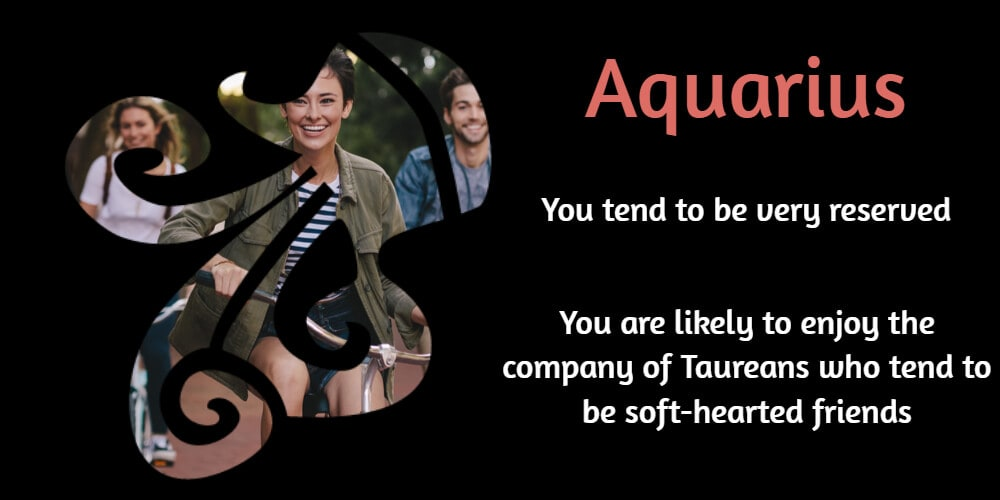 Best friend for Aquarius