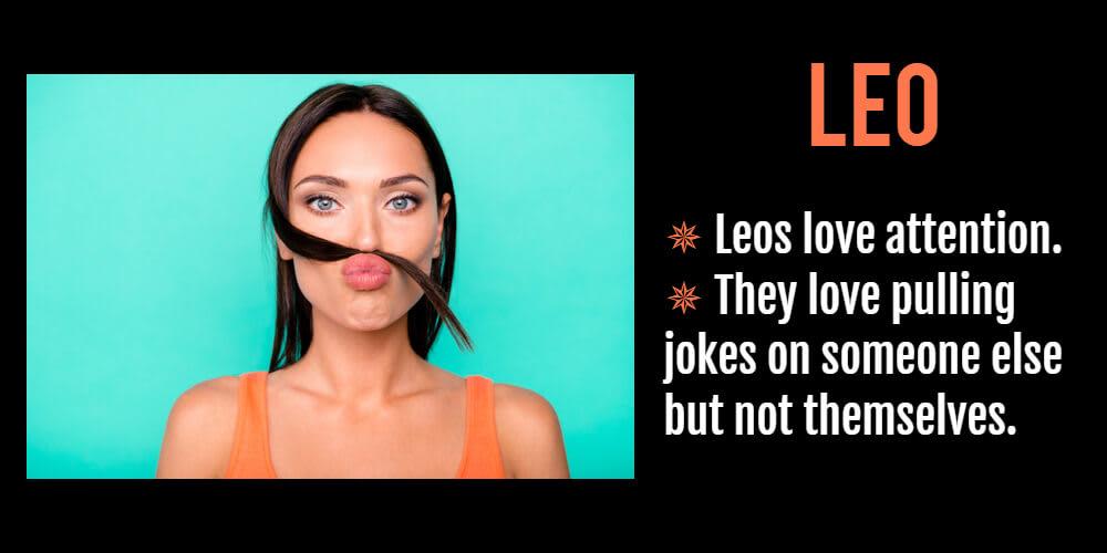 Funny horoscope for Leo