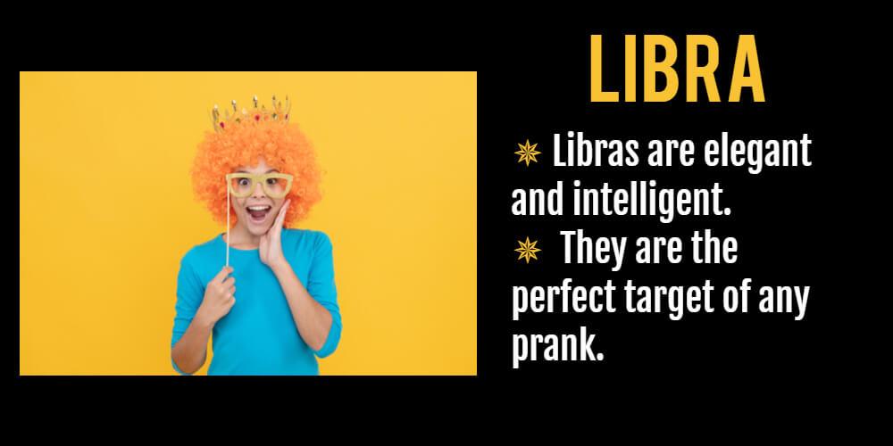 Funny horoscope for Libra