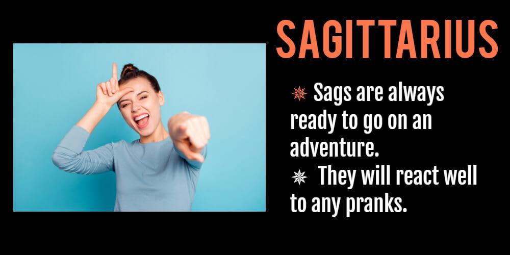 Funny horoscope for Sagittarius