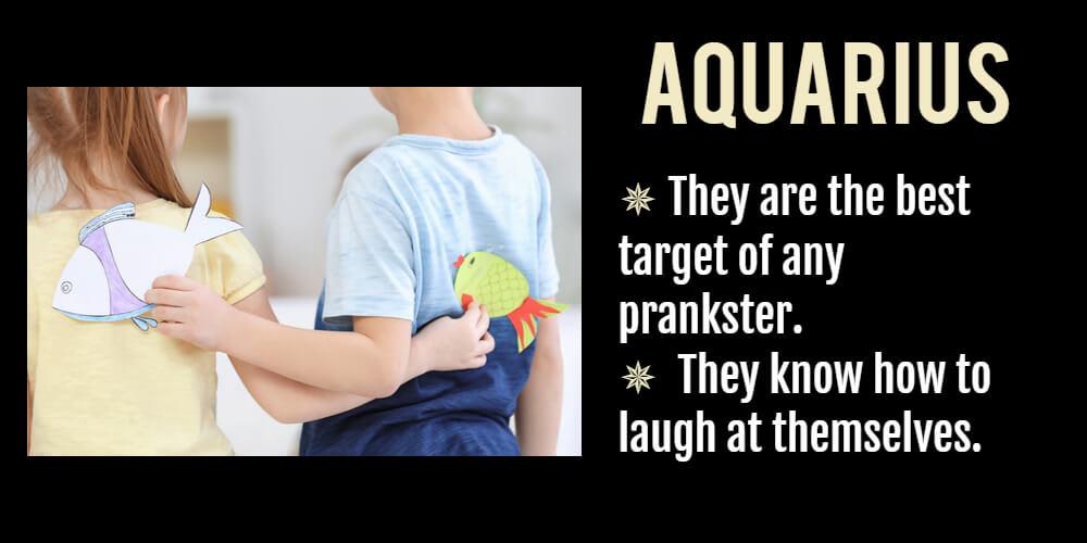 Funny horoscope for Aquarius