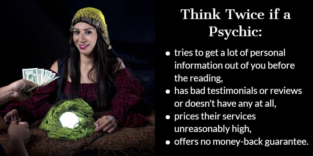 How to avoid a bad psychic