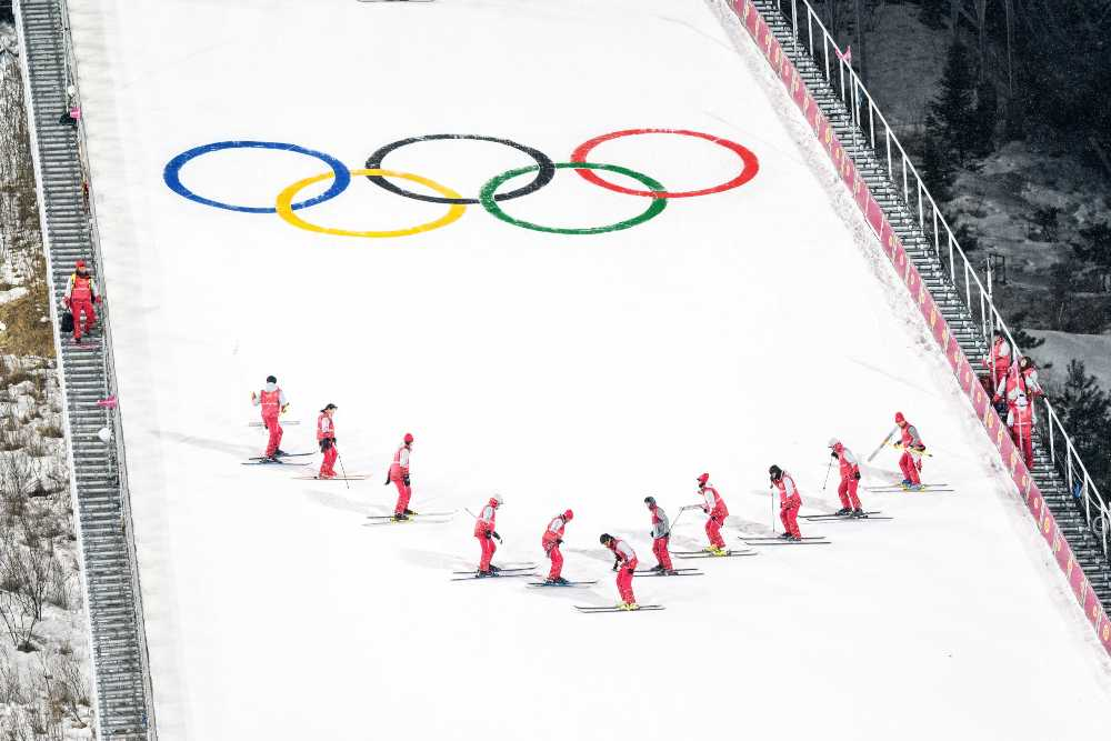 What Olympic sport is ideal for Aries?