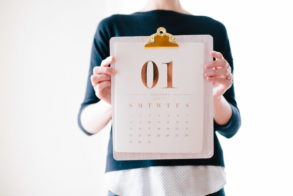 Lucky Days Calendar for Aries