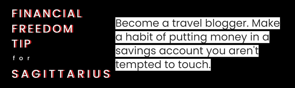 financial tips for Sagittarius
