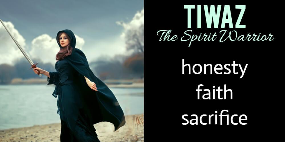 Rune Stone Reading for July: Tiwaz