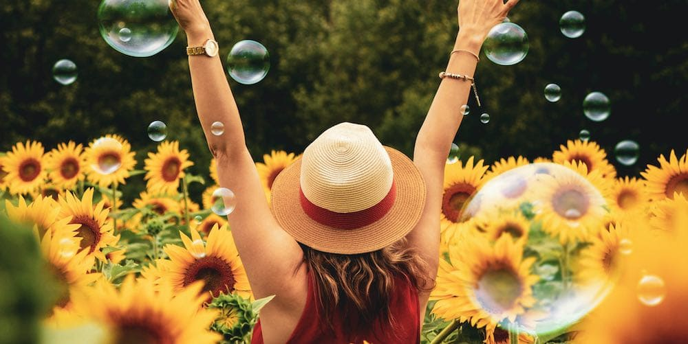 Libra should spend time in nature surrounded by plants and flowers while planning their new life.