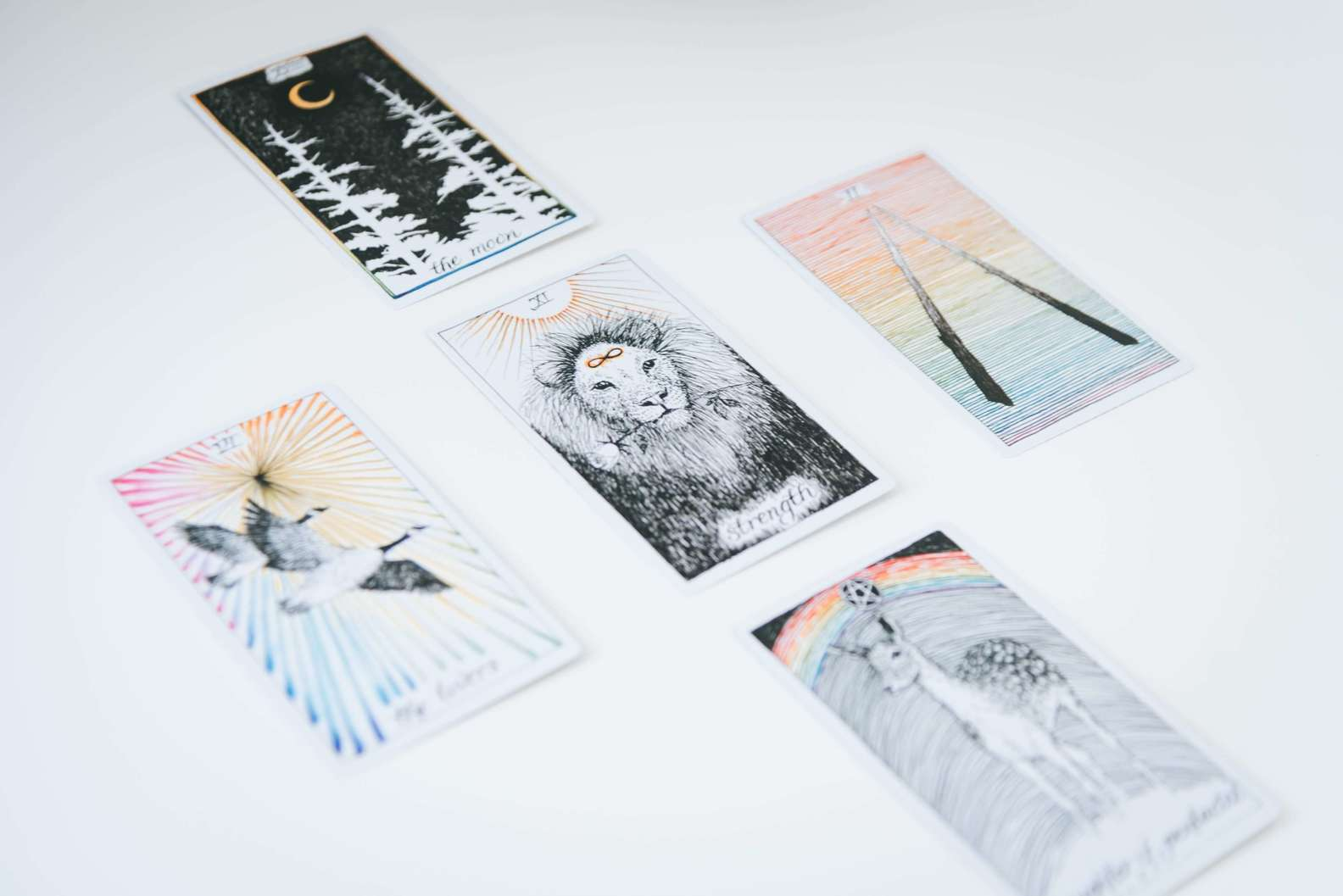 five card tarot spread