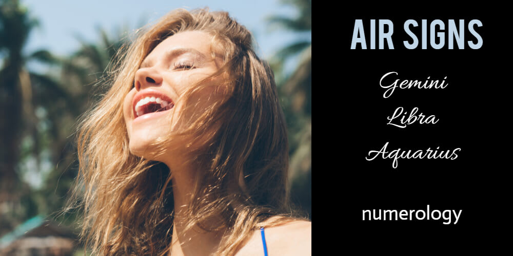 What we do to make you happy: Air signs