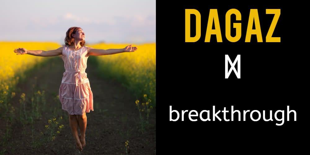 Rune Reading for October: Dagaz