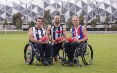 Team 22 launches at the MCG