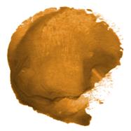 orange poo colour