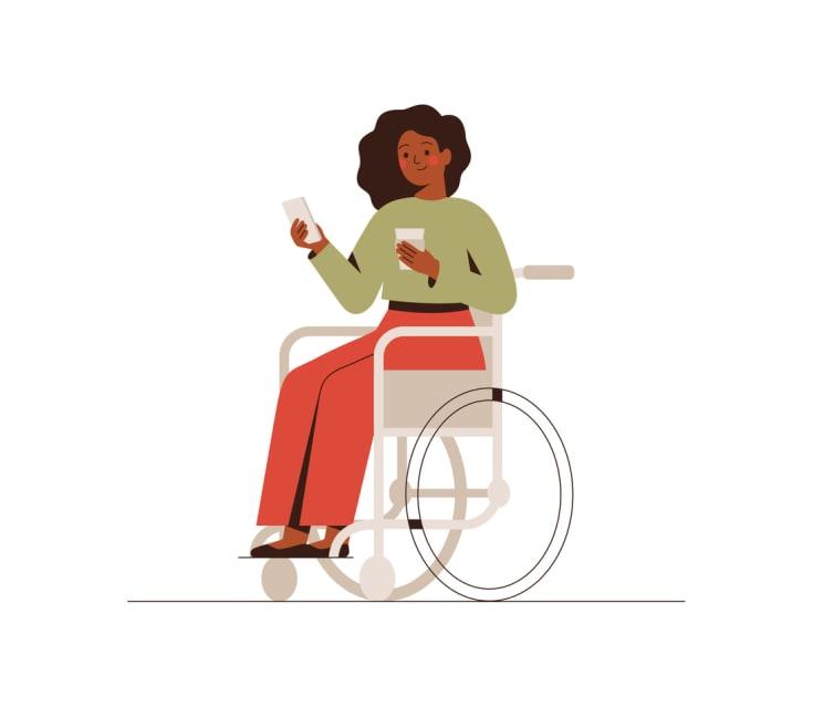 wheelchair posture