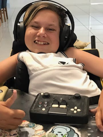 Student makes custom controllers for people with disabilities