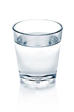 glass of water, dehydration symbol