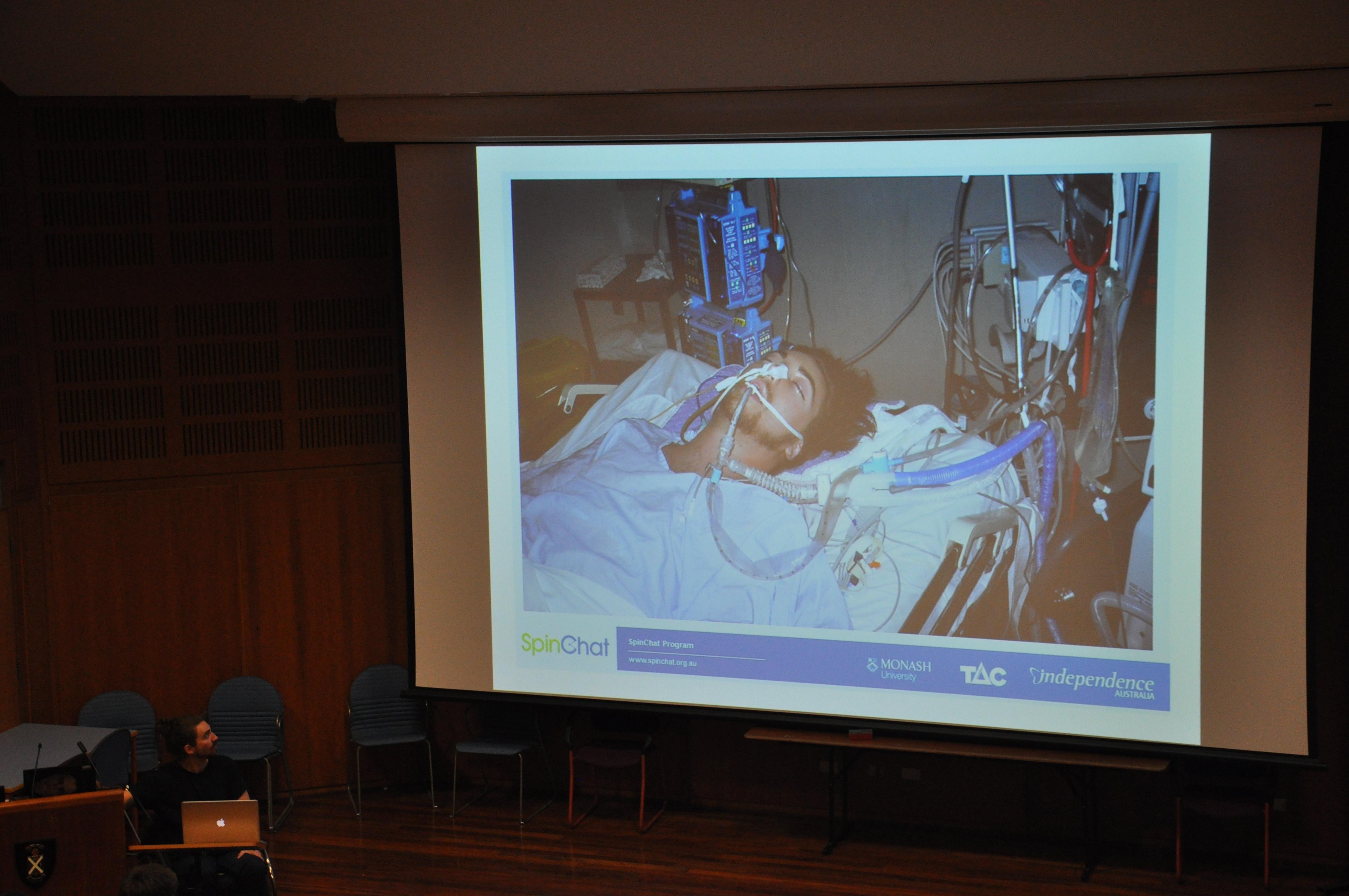 speaker presentation slide