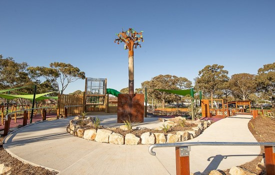 Accessible playground South Australia