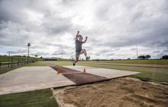 Caytlyn Sharp Jumping