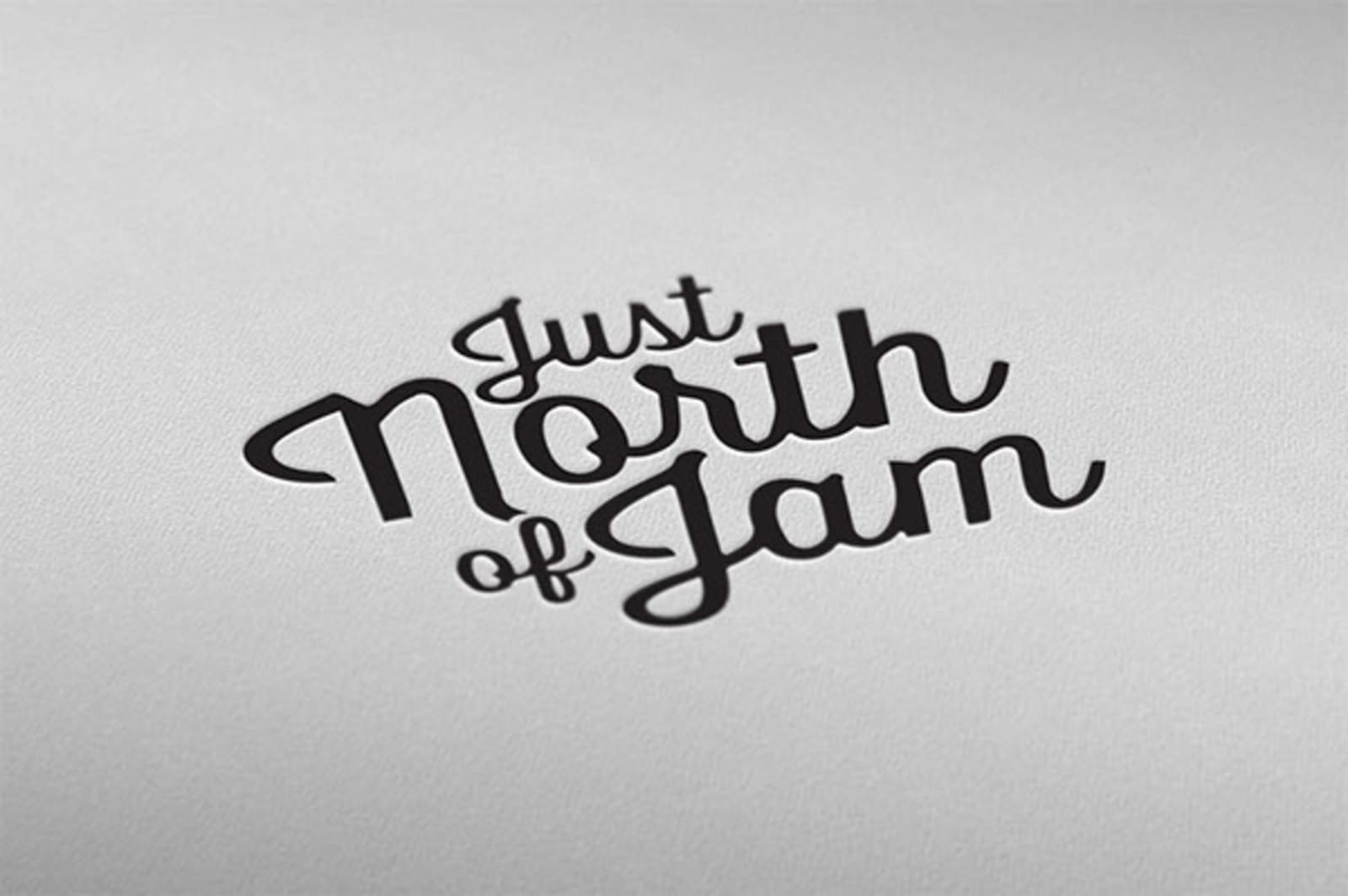 Just North of Jam Logo