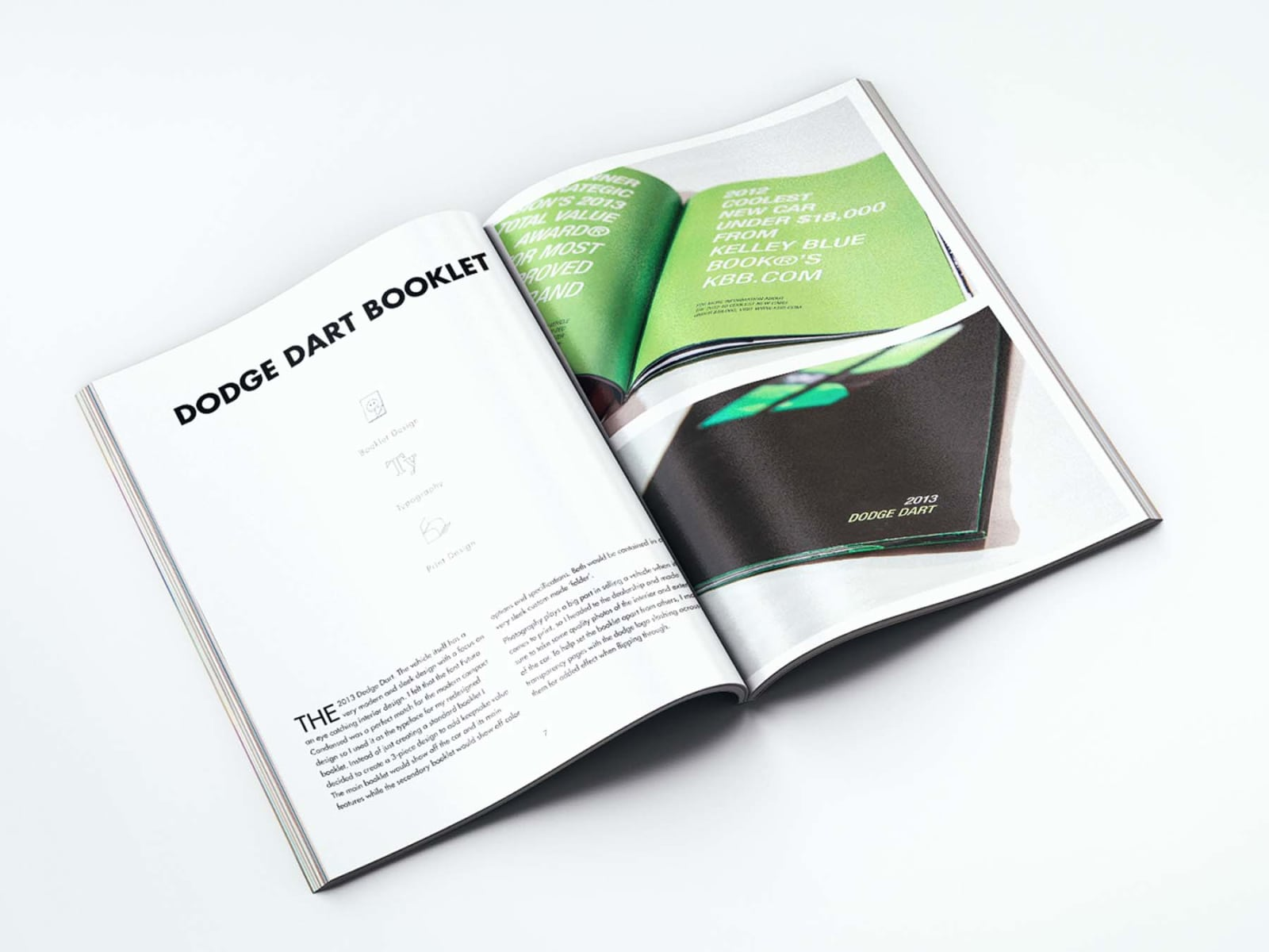 Portfolio Booklet Dodge Dart