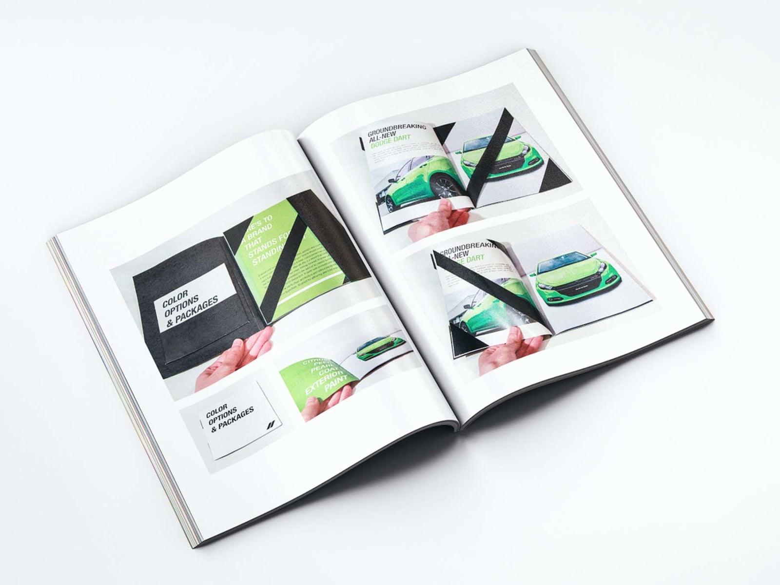 Portfolio Booklet Dodge Dart 2