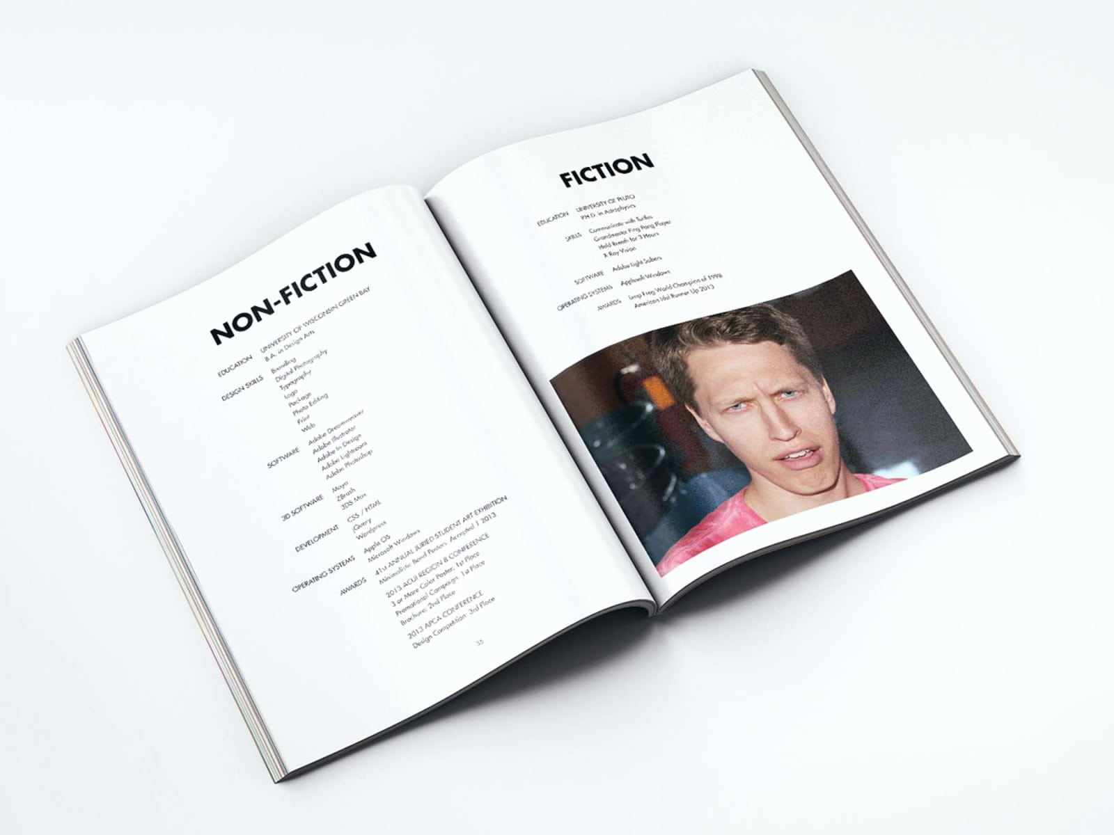 Portfolio Booklet Resume