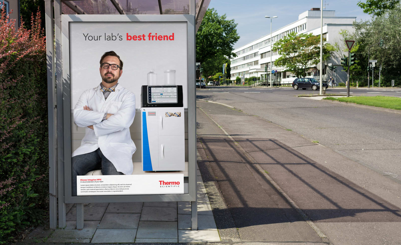 Thermo Scientific Best Friend Bus Ad
