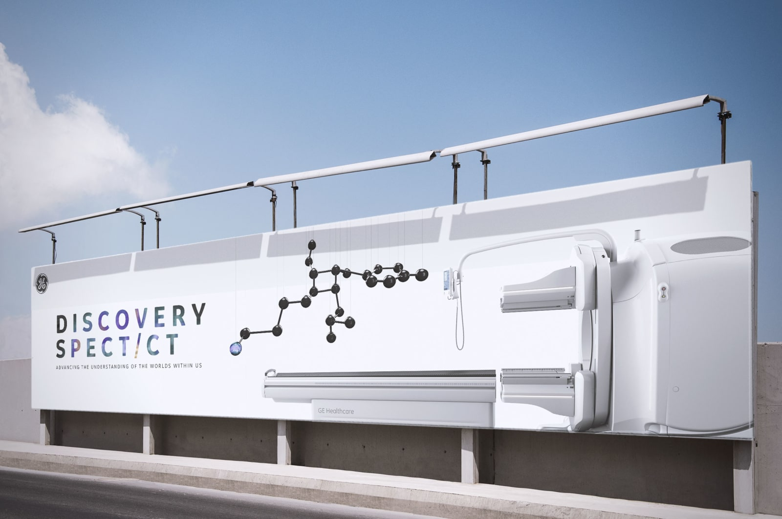 GE Discovery Constellations Spect/CT Billboard