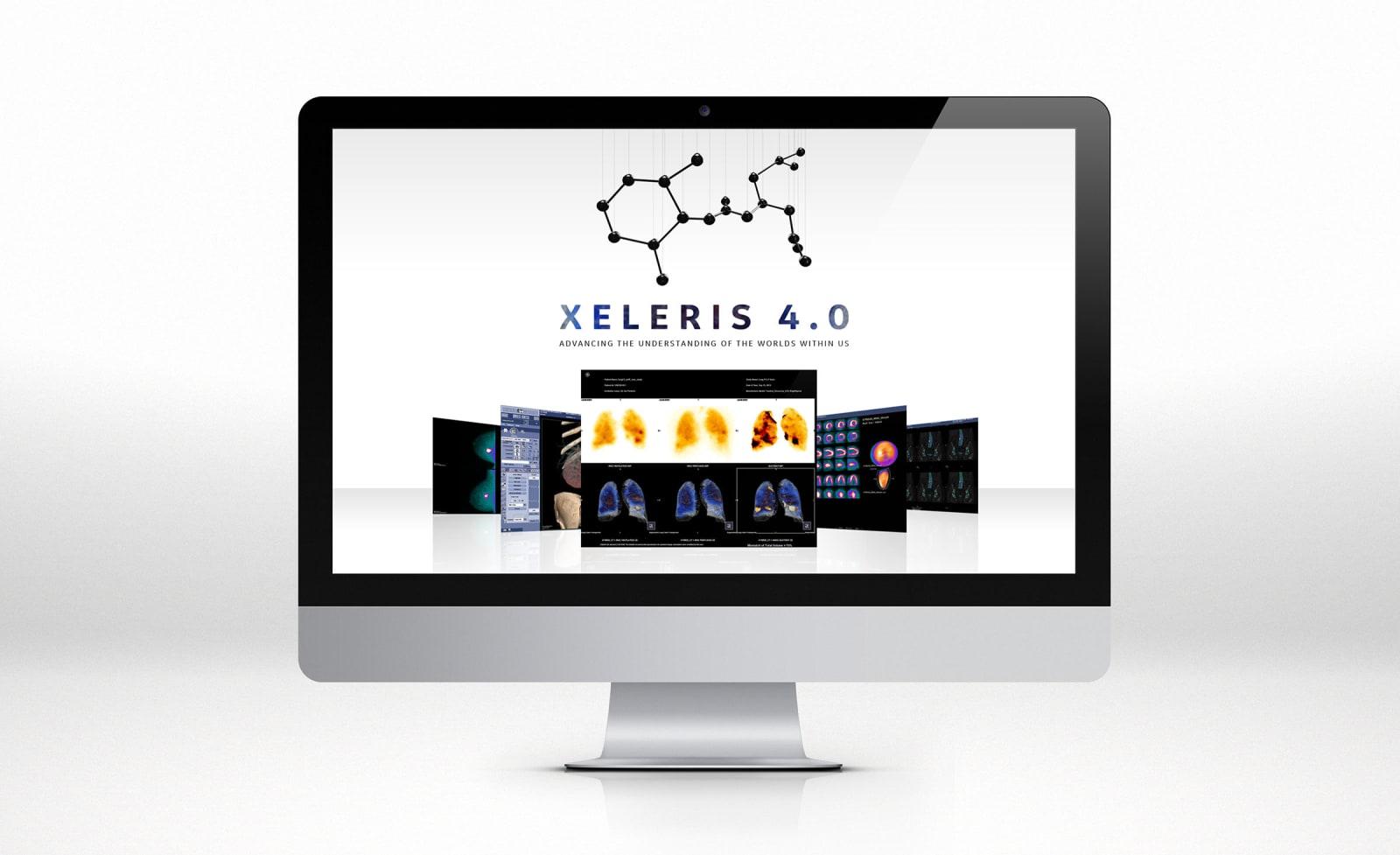 GE Discovery Constellations Xeleris 4.0 Website