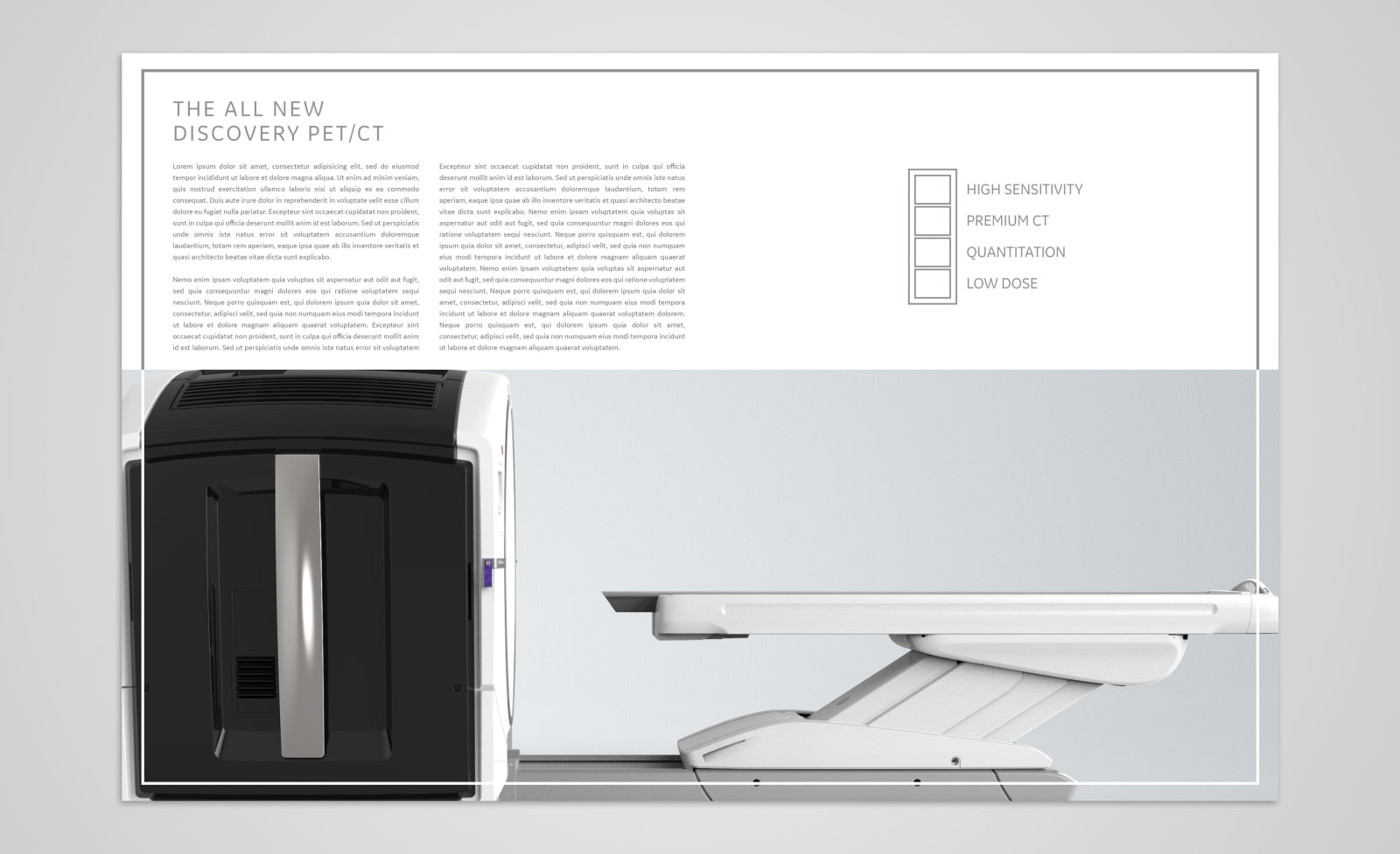 GE Discovery GE Discovery Elegance PET/CT Spread