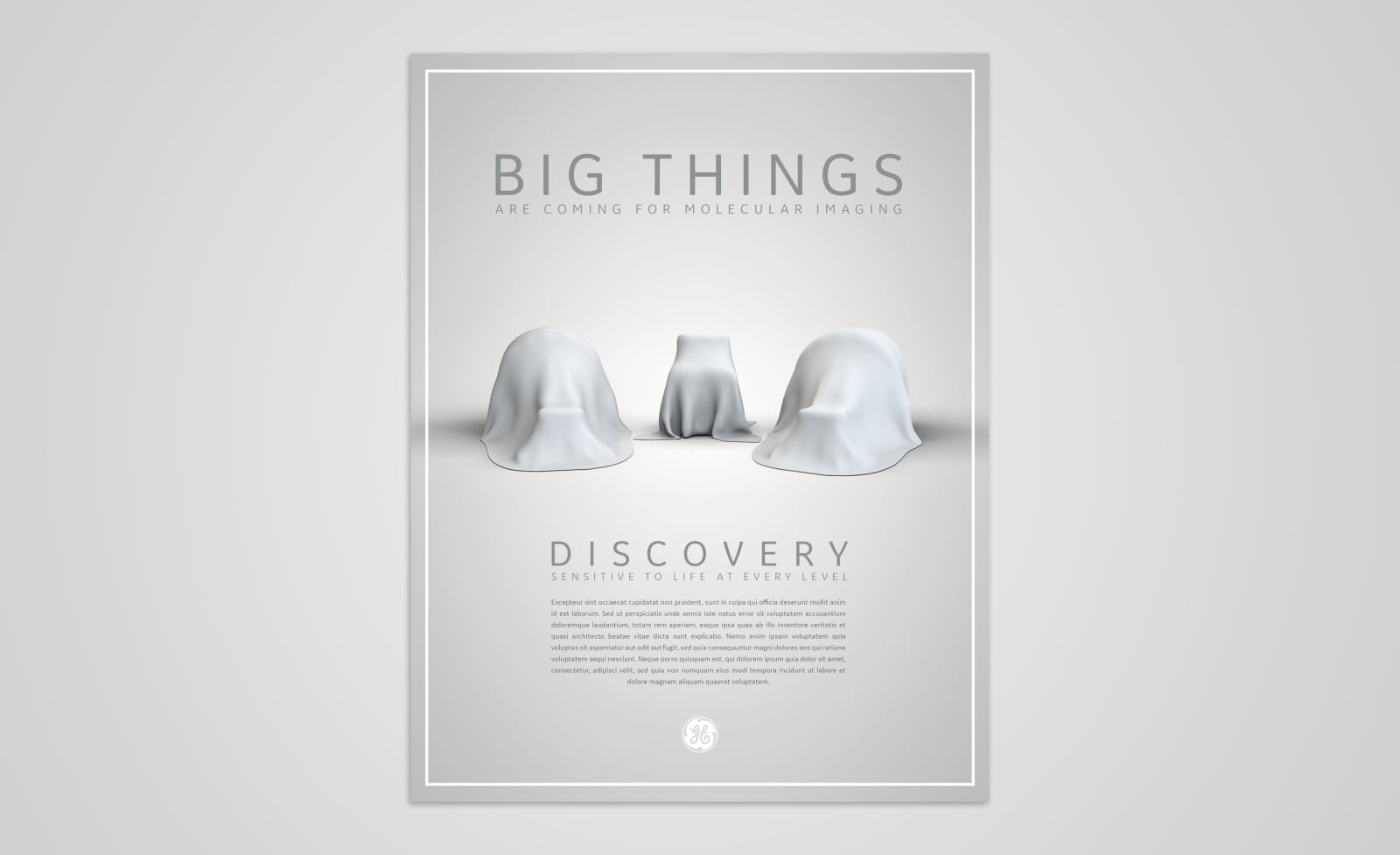 GE Discovery GE Discovery Elegance Teaser Ad 1