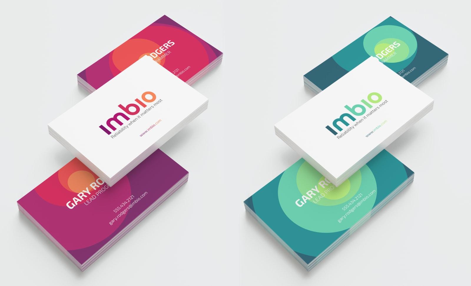 Imbio Business Cards