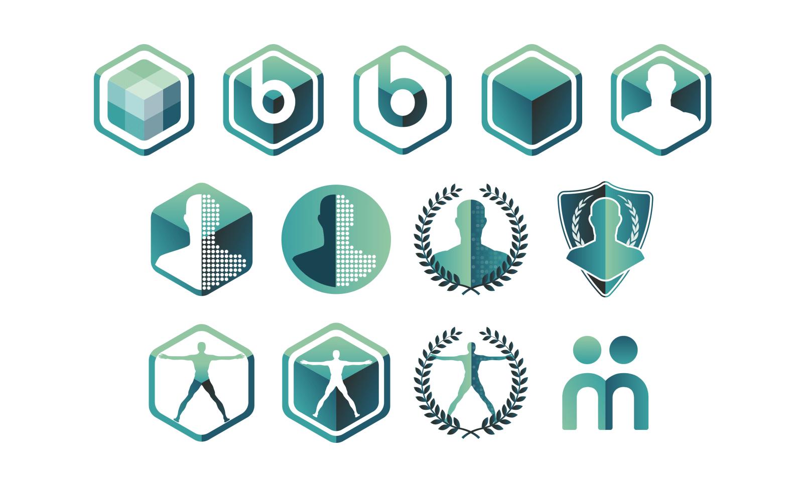 Imbio Data Points Image Logo Variations