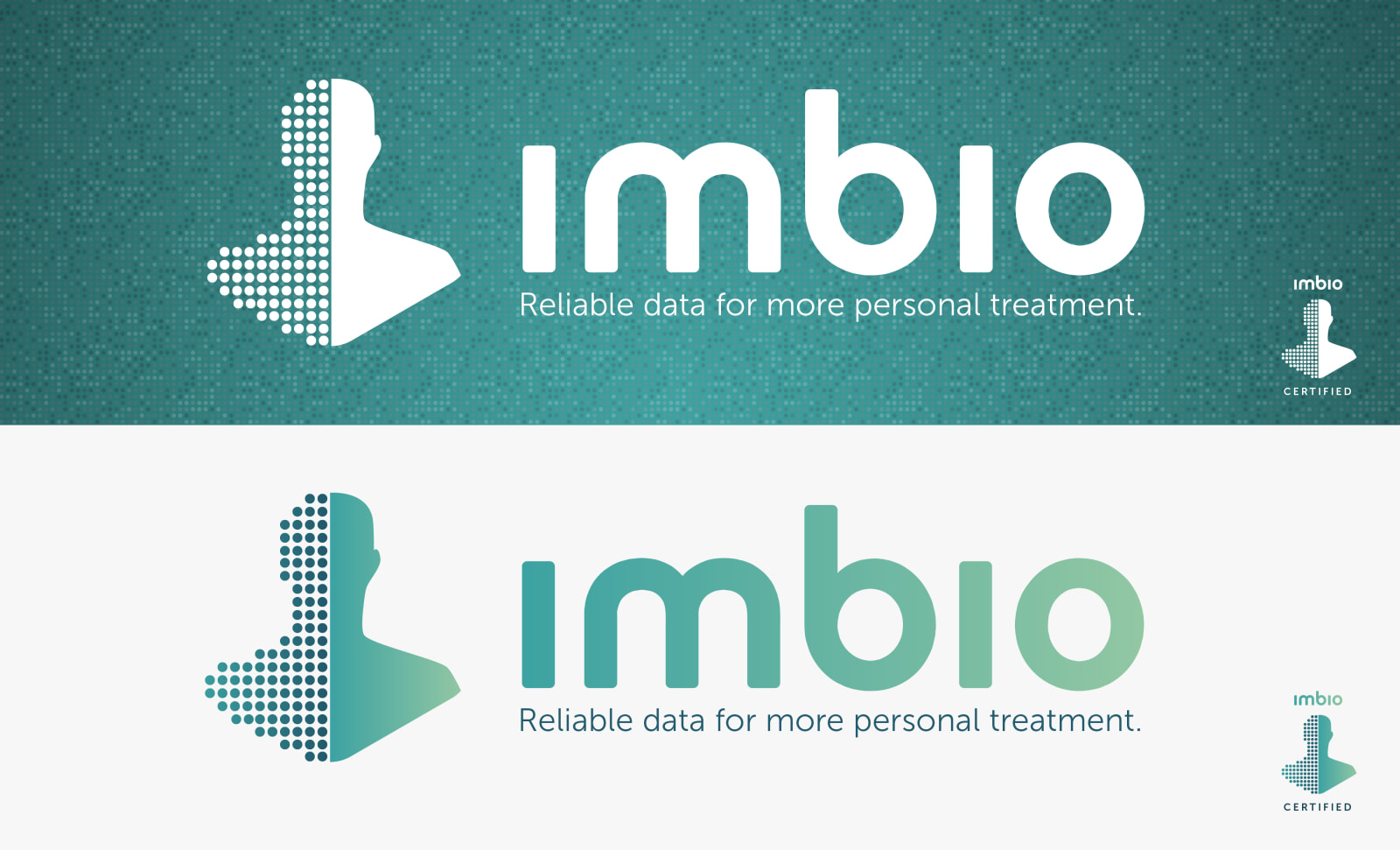 Imbio Data Points Logo Treatment