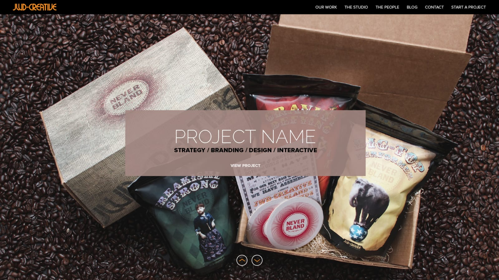 JWD Creative Home Page