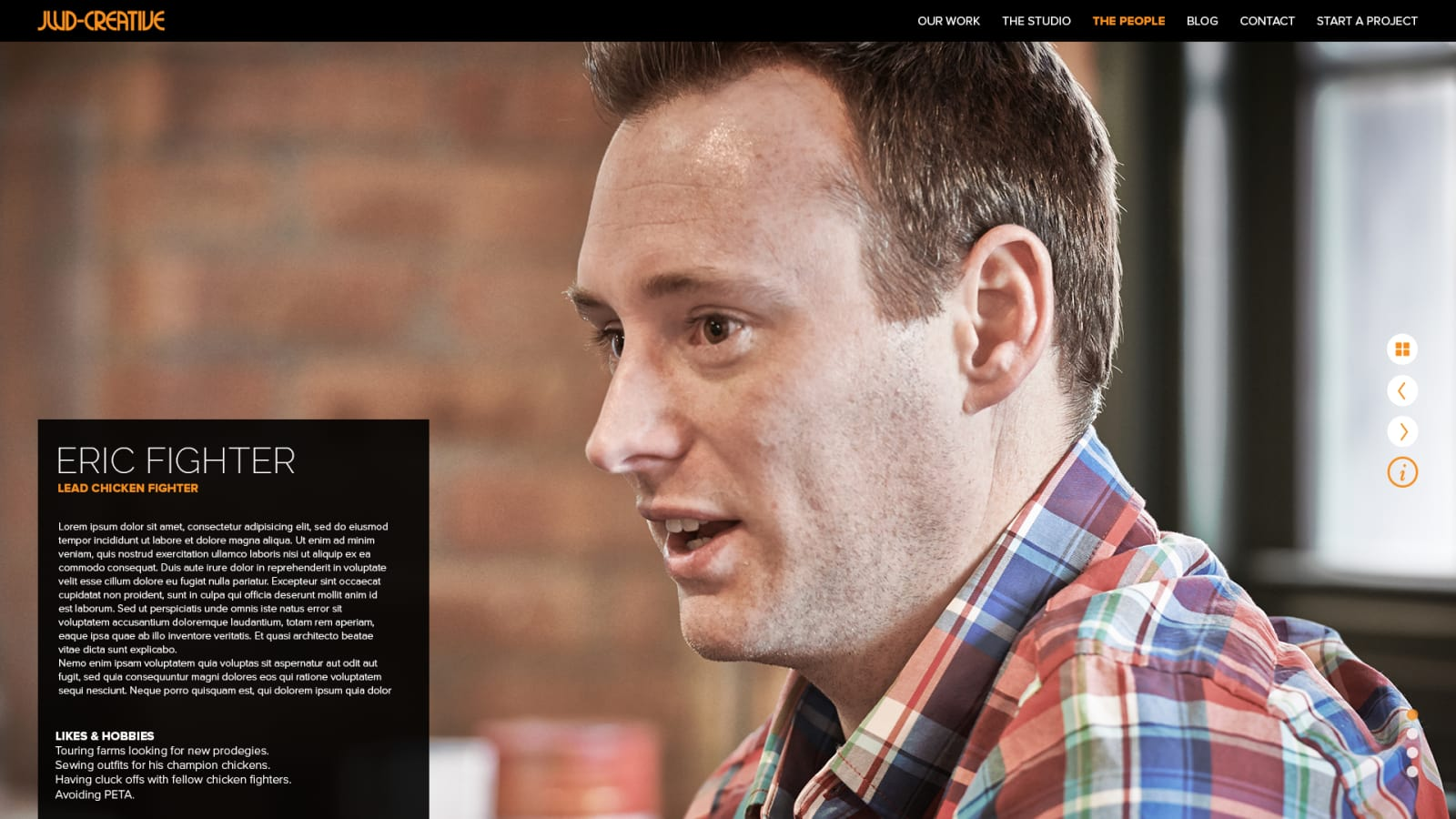 JWD Creative Person Page