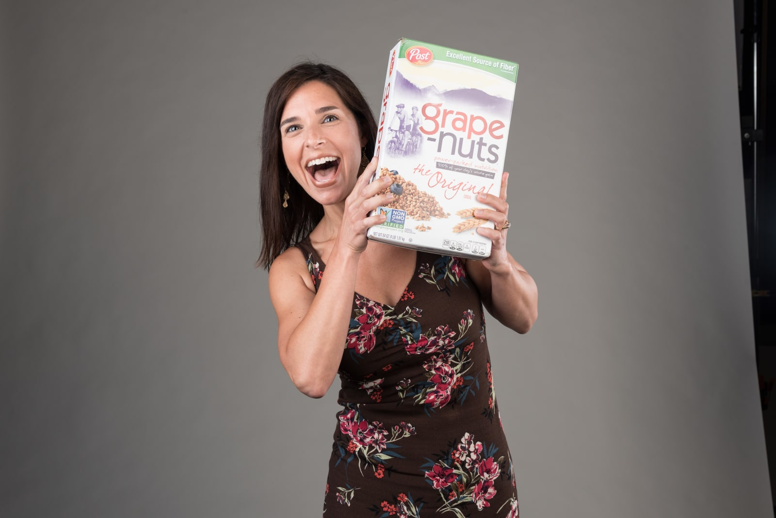 Molly Setzer with Grape Nuts