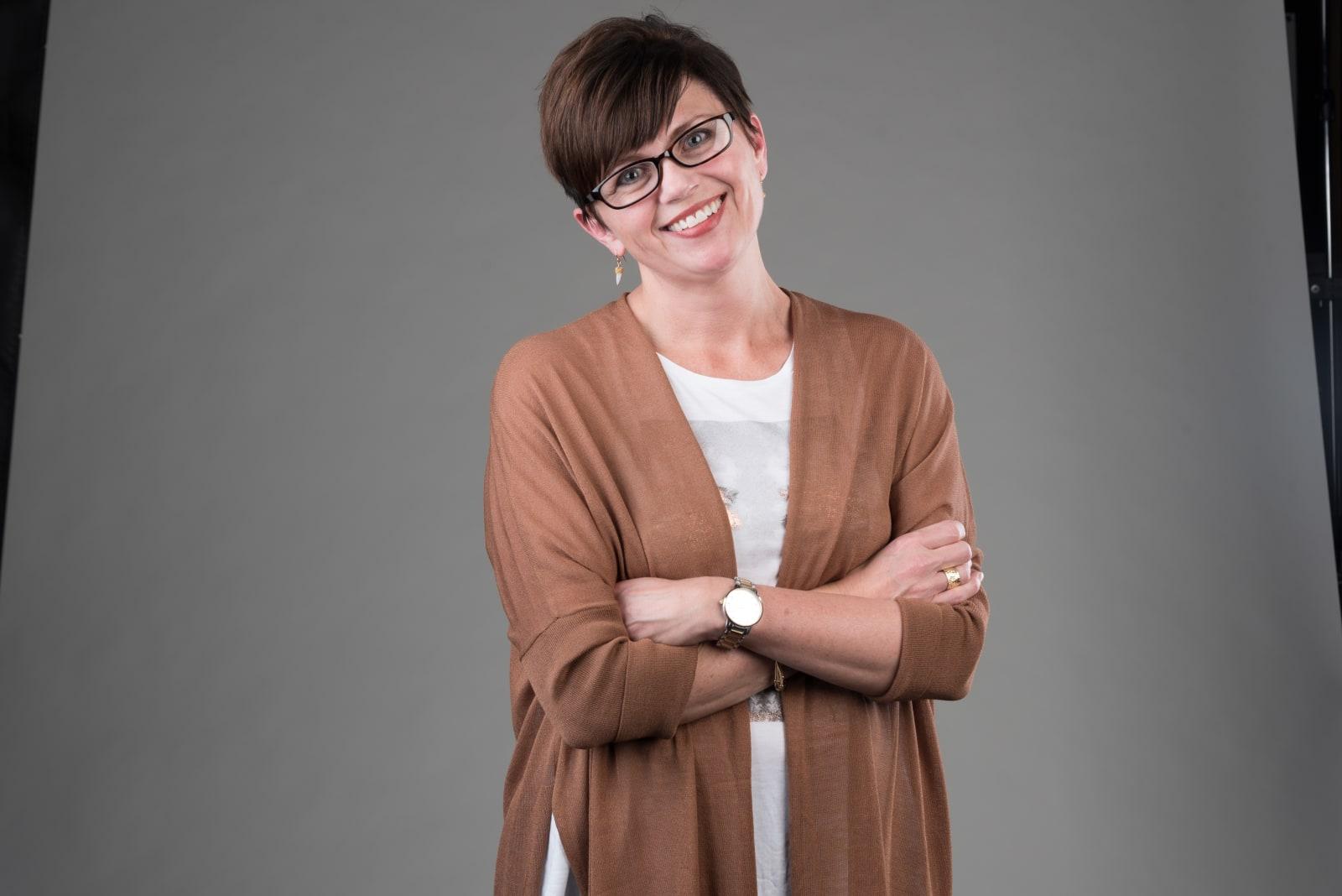 Niki Petit with Glasses